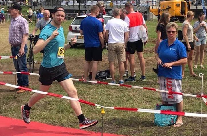 Sportieve Hondsrug-helden schitteren tijdens triatlon