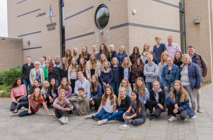 Uitwisseling Hondsrug College - Gymnasium Marianum Meppen