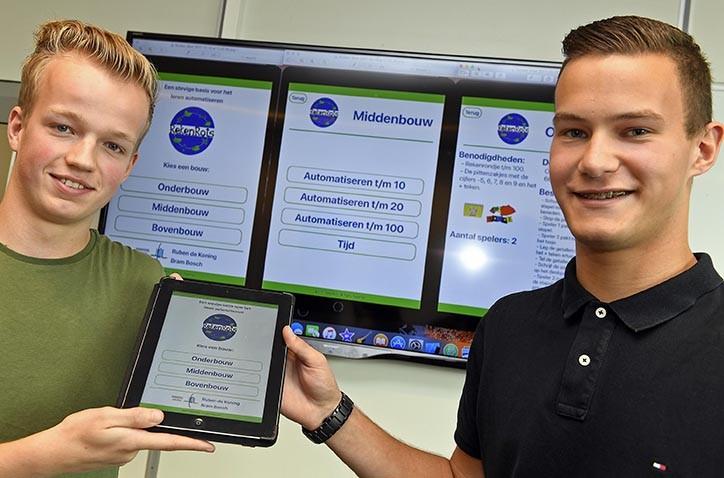 Vwo-leerlingen Hondsrug College ontwikkelen bijzondere rekenapp