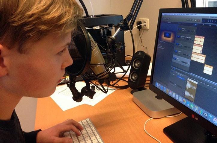 Kom radio maken tijdens de Open Dag van het Hondsrug College