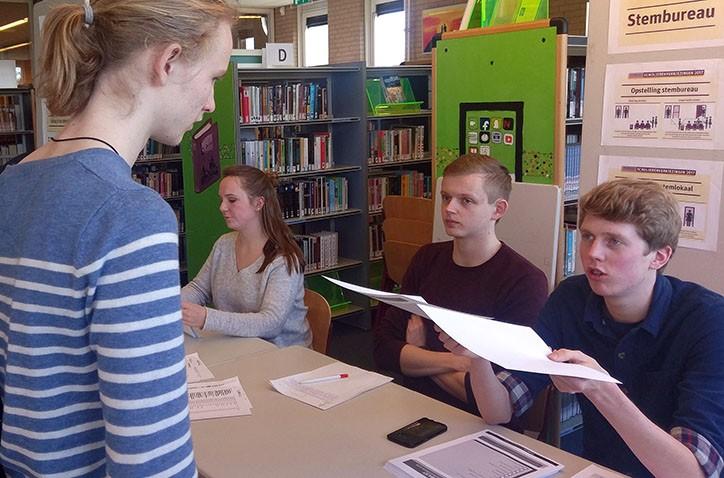 VVD wint scholierenverkiezingen