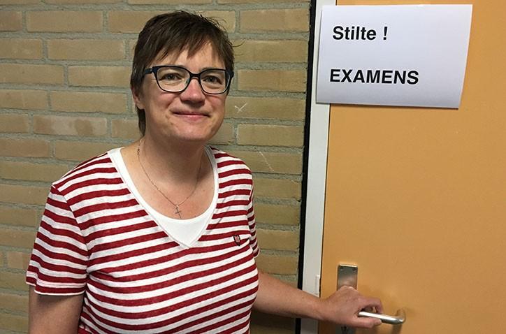 'Examendebuut' voor surveillant Jeannette Buitenhuis