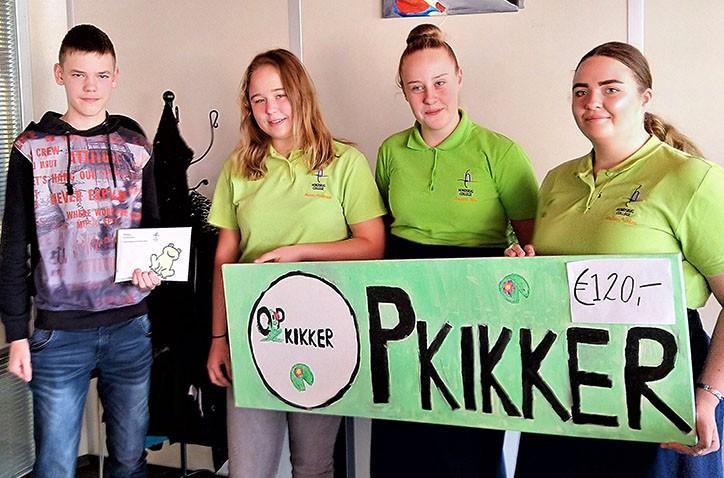 KoffiemorningHondsrug College succesvol in actie voor stichting Opkikker