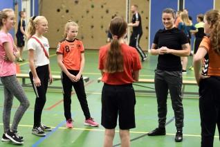 Voetbalclinic met Sherida Spitse 2019