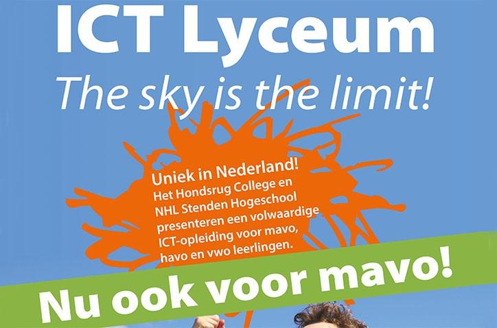 ICT Lyceum nu ook voor mavo!